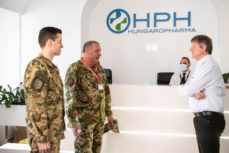 Honvédelmi Minisztérium tájékoztatása